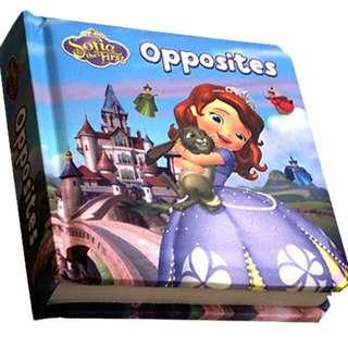 Buku Anak OPPOSITES - SOFIA THE FIRST BOARD BOOK