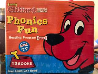 Clifford The Red Dog Phonics Fun