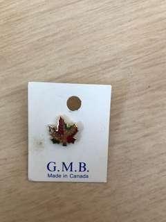 世界巡迴紀念襟章系列 加拿大