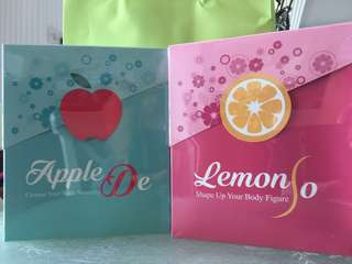 Lemon So + Apple De wonderful set