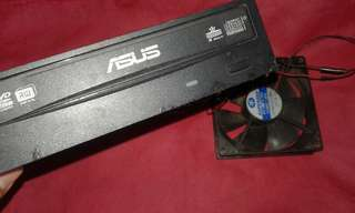 Asus DVDRW with Fan