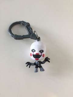 Five nights at Freddy's figurines keychains