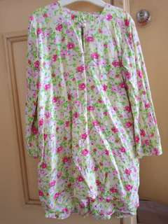 Preloved Baju Kurung Cotton