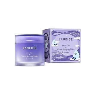 PAKET LANEIGE WATER SLEEPING MASK + LIP SLEEPING MASK