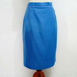 Rok/skirt warna biru