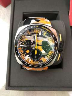 Nsquare Nick Chrono in Orange Camo