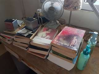 Fiction Literature Books, Laneige BB Cushion, Innisfree Makeup Remover Cleansing Gel