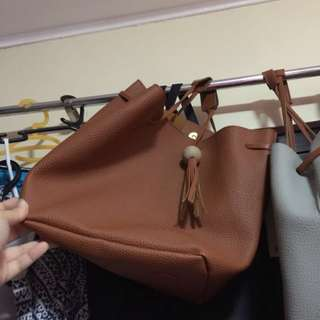•brandnew• 2 in 1 Brown Bag