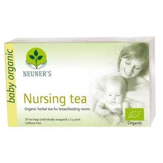 Neuners - Organic Nursing Tea - 20 tea bags, healthy flow of breastmilk