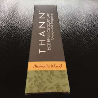 Thann Aromatic Wood Rice Bran Oil Soap Bar