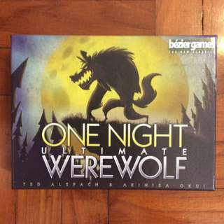 One Night Ultimate Werewolf + Daybreak expansion party game