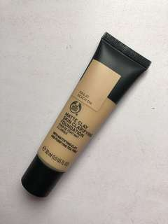 The body shop matte clay skin clarifying foundation railay beach 014