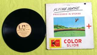STAR WARS by FERRANTE & TEICHER ● FLYING HORSE . color slide (Rare) (buy 1 get 1 free )  vinyl record