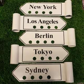 Decorative Country Signs