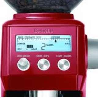 Breville Smart Grinder BCG820 SS Red