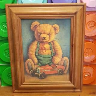 Vintage Bear Frame
