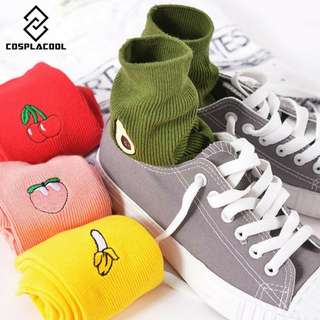 🚚 Korean Harajuku Fruit Socks