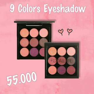 Focallure 9 Colors Eyeshadow