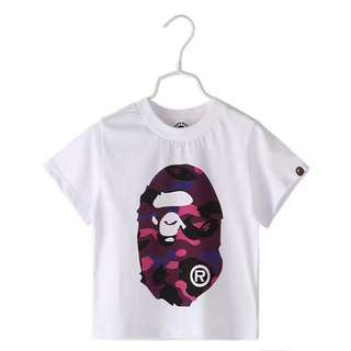 A Bathing Ape Kid Tee