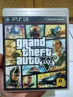 Bluray disc GTA V ps3