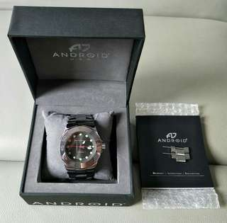 Android Hercules Tungsten Automatic watch 48mm