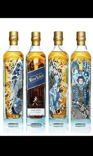 750ml Blue Label (香港特別版)