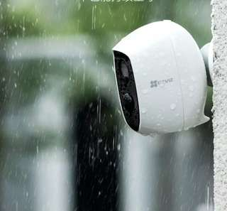 True Wireless Recharge Battery IP Camera CCTV Waterproof