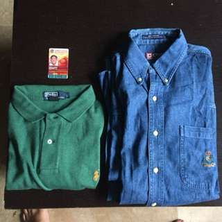 Rl ralph lauren fred perry tommy penguin