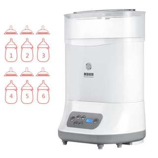 Gland  baby bottle sterilizer with drying multifunctional steam