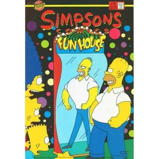 Simpsons Comics #18 (March 1996) - Get Fatty: Springfield is declared America's fattest town. Can Homer shape up so Springfield can get a new water park, or will he have to ship out - on a very large boat?
