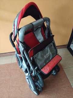 My Dear second hand double stroller