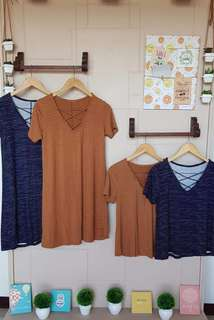 RYON DRESS AND X TOPS