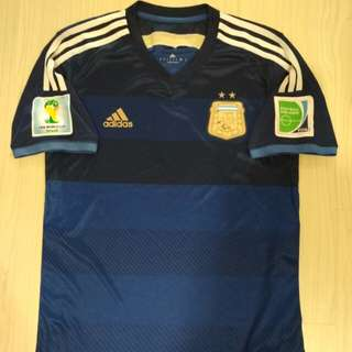 Limited Edition Argentina WC soccer jersey with WC patches