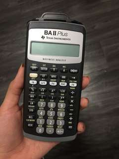 BA 2 Plus Texas Instruments
