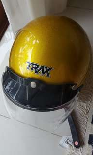Bike helmet Trax // Brand new // S size// Gold