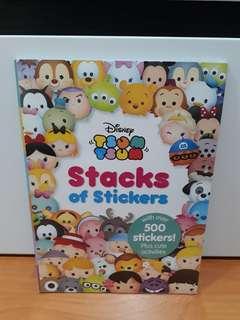 BBW-Stack of Stikers Tsum Tsum