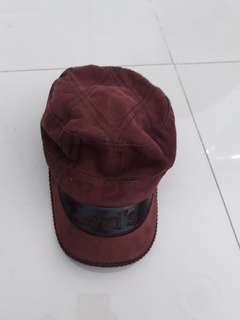 #mausupreme Topi Coklat Levi's