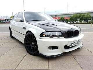 售1999年 bmw 328i 白色黑內裝