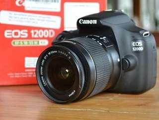 Canon 1200D Harga Murah Bisa Di Cicil Proses Cepat