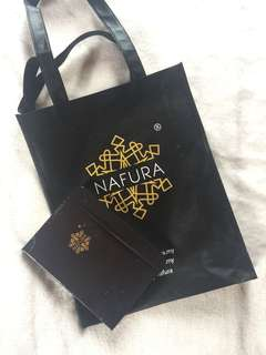 Nafura Bag w/ Notebook