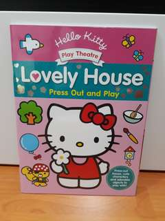 BBW-Press Out and Play Hello Kitty