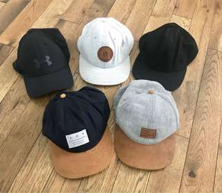 Hats/Caps - Under Armour and H&M