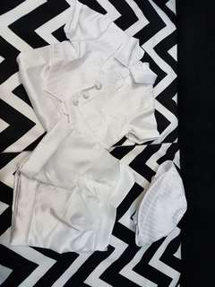 All White Baptism Outfit for Baby Boy