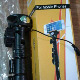Yunteng YT-1188 Monopod with Cable and Built-in Remote Shutter
