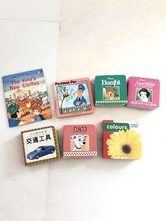 Little books for little hands x7