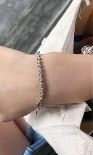 半卡鑽石手鏈
