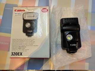 Canon 320EX SpeedLite(Warranty 1 month)