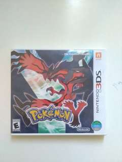 Nintendo 3DS Games PKMN Y version