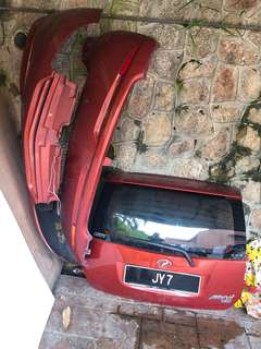 Myvi bumper and bonet
