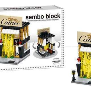 Mainan Lego Block SEMBO CARTIER 140PC - SD6054
